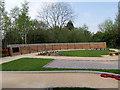 SD5525 : Peace Garden at Lostock Hall by David Dixon