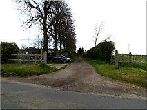 TM1551 : Footpath to Church Lane by Geographer