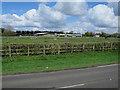 TL9492 : Horse paddocks by West Farm by Hugh Venables