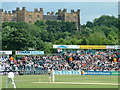 NZ2850 : Michael Vaughan Batting at Chester-le-Street, 2003 by Road Engineer