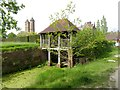 TQ8038 : The boat house at Sissinghurst by Oliver Dixon