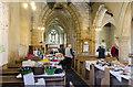 TA1807 : Interior, St Edmund's church, Riby by Julian P Guffogg