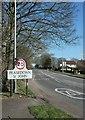 ST6956 : Fosse Way approaching Peasedown St John by Derek Harper