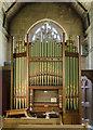 TA1807 : Organ, St Edmund's church, Riby by Julian P Guffogg