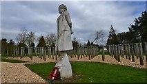 """SK1814 : National Memorial Arboretum: """"Shot at Dawn"""" 3 by Michael Garlick"""