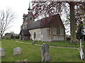 TM1852 : St.Mary's Church, Swilland by Adrian Cable