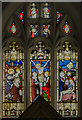 TF1681 : East window, St Mary's church, East Barkwith by Julian P Guffogg