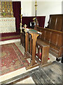 TM1852 : St.Mary's Church Lectern by Adrian Cable
