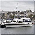 J5082 : Motor yacht 'Jacana' at Bangor by Rossographer