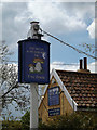 TM1852 : The Moon and Mushroom Public House sign by Adrian Cable