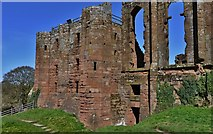 SP2772 : Kenilworth Castle: The Strong Tower by Michael Garlick