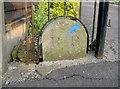 ST5668 : Boundary stone on Highridge Road by Neil Owen