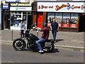 H4572 : Another Suzuki motorbike, Omagh by Kenneth  Allen
