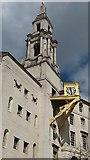 SE2934 : Leeds Civic Hall - detail by Stephen Craven