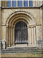 TL1998 : Door at St. Peter's Cathedral, Peterborough by Paul Bryan