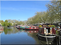 TQ2681 : At the IWA Canalway Cavalcade 2016 – Little Venice by Peter S