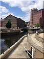 SE2933 : Leeds canal by Dave Thompson