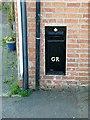 SK8101 : Old postbox, Church Street, Belton-in-Rutland by Alan Murray-Rust
