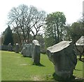 SU1070 : Avebury - Stones on western side by Rob Farrow
