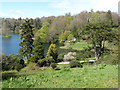 ST7734 : View over the lake at Stourhead by Derek Voller