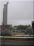 TQ3884 : View across Stratford station from the Westfield shopping centre by Christopher Hilton