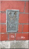 SO8832 : Ordnance Survey Flush Bracket (S6106) by Adrian Dust