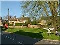 SK8306 : Village Green, Braunston in Rutland by Alan Murray-Rust