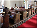 TL4943 : St Mary Magdalene, Ickleton - Pews by John Salmon