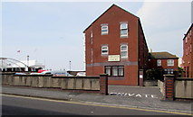 ST3049 : South side of College Court flats, Burnham-on-Sea by Jaggery