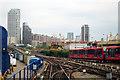TQ3780 : Docklands Light Railway near Westferry by Oast House Archive