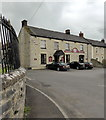 ST3847 : The Packhorse Inn, Mark by PAUL FARMER