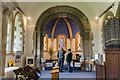 TF0376 : Interior, St Edward's church, Sudbrooke by Julian P Guffogg