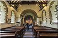 TF0376 : Interior, St Edward's church, Sudbrooke by J.Hannan-Briggs