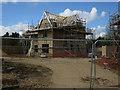 TG0117 : House under construction, Swanton Morley by Hugh Venables