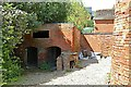 SP5087 : Pigsty at Ullesthorpe windmill by Alan Murray-Rust