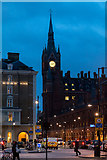 TQ3083 : Looking towards the St Pancras Clock Tower, London N1 by Christine Matthews