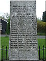 TL4943 : Roll Of Honour by Keith Evans