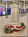 SJ8497 : New War Memorial at Manchester Piccadilly Station by David Dixon
