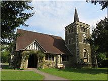 TQ4251 : St Andrew's Church, Limpsfield Chart by Richard Rogerson