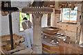 SO7263 : Shelsey Walsh watermill - Stone Floor by John M