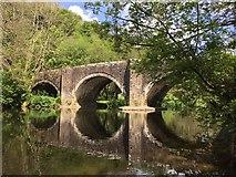 SN0717 : Llawhaden Bridge by Alan Hughes