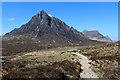 NN2455 : The West Highland Way and Buachaille Etive Mòr by Chris Heaton