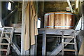 SP7401 : Chinnor, post mill - stone floor by Chris Allen