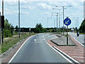 TF2735 : Eastbound A17, Junction with Spalding Road by David Dixon