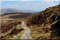 NN2159 : West Highland Way descending to Allt a' Choire Odhair-mhòir by Chris Heaton