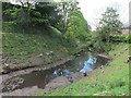 NY6819 : Appleby Castle: inner ditch by Stephen Craven