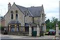 TQ2585 : Entrance lodge, Hampstead Cemetery by Julian Osley