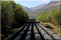 NN1961 : Pipelines Descending towards Kinlochleven by Chris Heaton