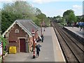 NY6820 : Waiting passengers at Appleby station  by Stephen Craven