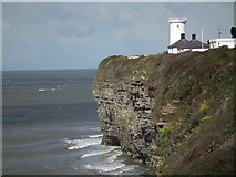 SS9168 : Nash Point Lighthouse by BARRIE TRIGG